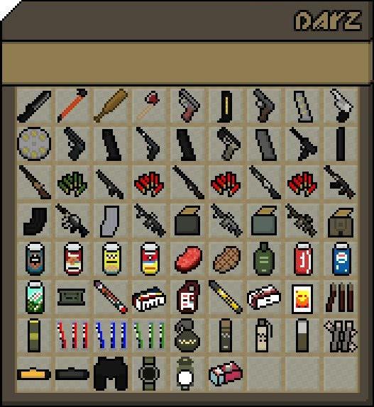 DayZ Mod (1.6.2) - Моды на Майнкрафт