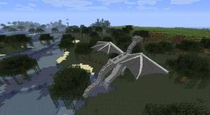 Крылья, хвост, огонь? Дракон в minecraft 1.9?