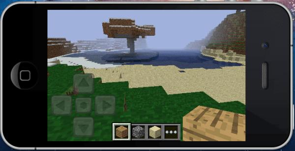 Minecraft будет и на IOS!