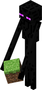 [Mod] Запрещает Enderman поднимать и носить блоки