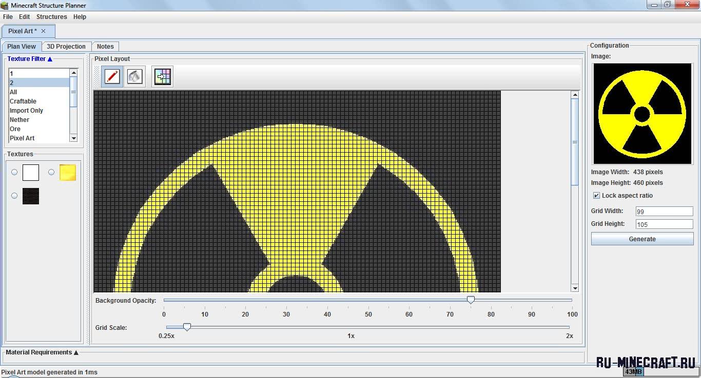 Скачать программу для пиксель арта в minecraft
