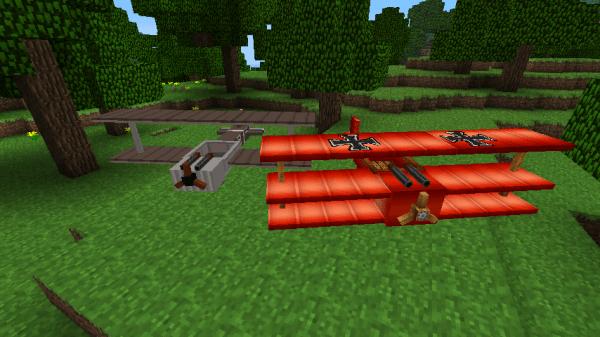 [Mod][1.8] Flans Mods: Самолеты в minecraft