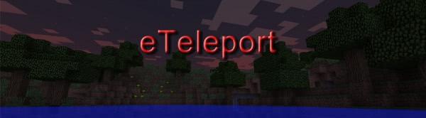 eTeleport v0.5 - плагин телепортации для сервера Bukkit