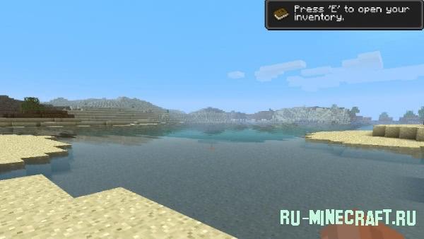 [1.8.x] Water Shader - анимированная и красивая вода в Minecraft
