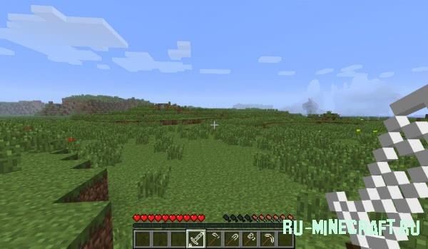 Мод добавляет стеклянные инструменты в Minecraft