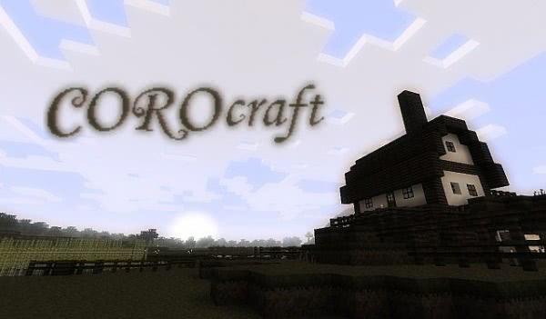 [1.0.0][16px] Corocraft [V2.3] - довольно мрачный текстурпак