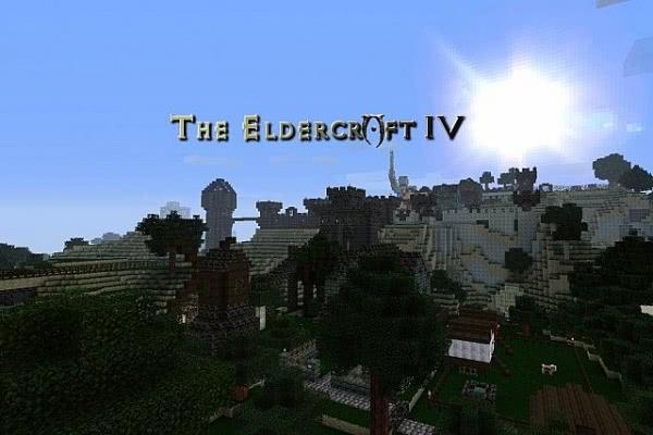[1.0.0][32px] The Eldercraft IV - текстурпак в стиле TES: Oblivion!