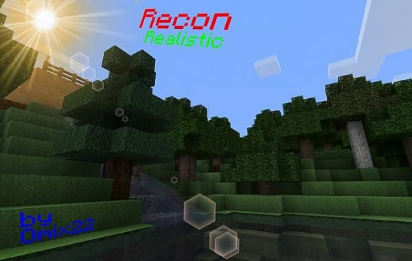 [1.0.0][128px] Recon - Realistic pack - красивый текстурпак