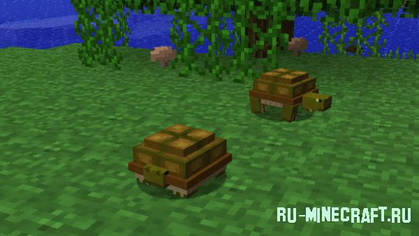Mo' Creatures - 40+ новых мобов [1.10.21.8.91.7.101.5.2]