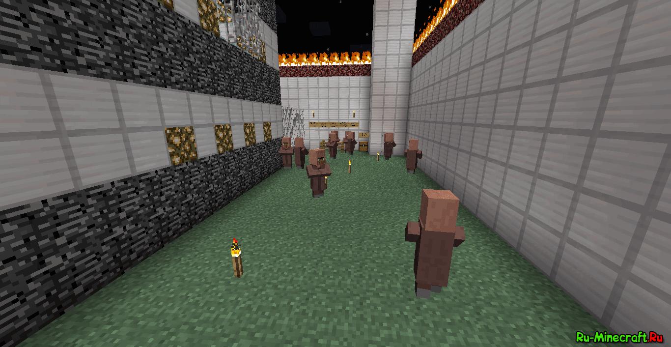 Скачать карту побег из тюрьмы Minecraft - 1,2,3,4,5,6 ...