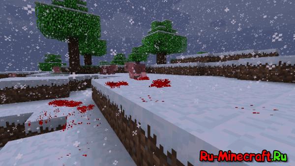 [1.1] BloodMod - добавление крови в Minecraft
