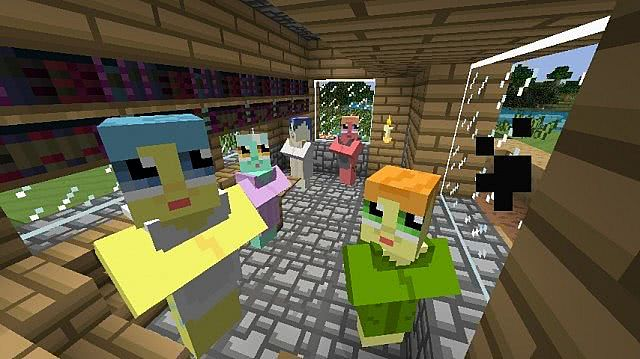Mine Little Pony Mod for Minecraft 1.10.2/1.9.4 | MinecraftSix