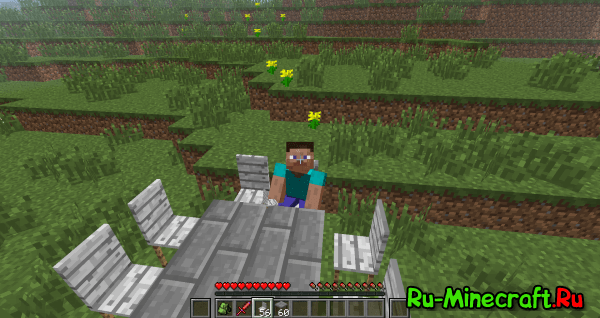 Minecraft 1.2.5 с модами от Saxalina