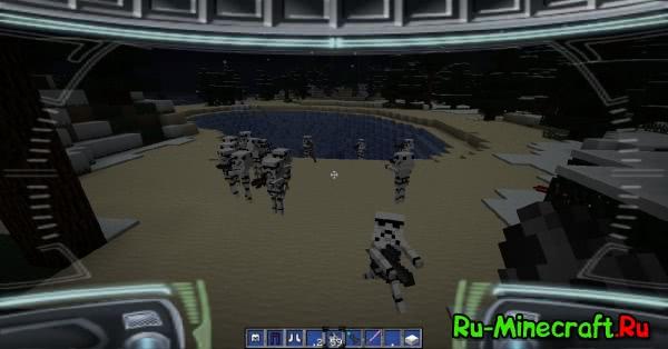 Mine Wars - Star Wars Texture Pack звездные войны