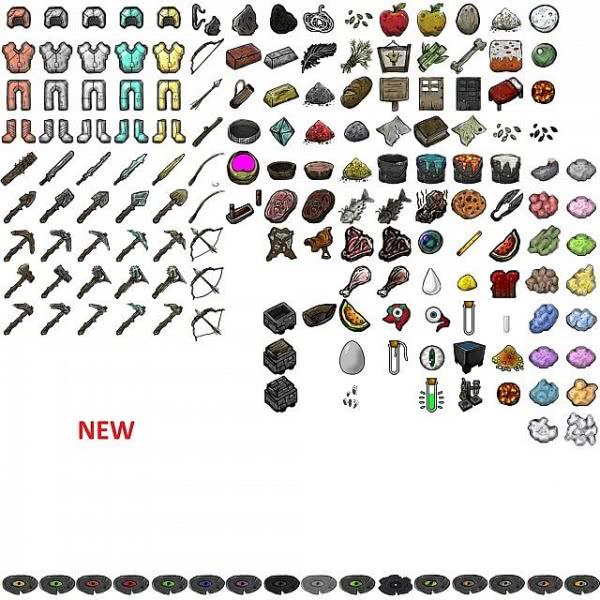 BORDERCRAFT - текстурпак в стиле игры Borderlands [1.8.9][128px]