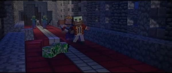 Падение королевства - песня и клип о трусливом короле Minecraft'a