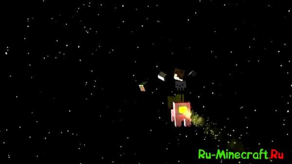 Музыкальный клип Minecraft, сон стива