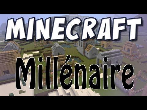 Клиент с модом Millinaire - города и деревеньки с жителями в майнкрафт