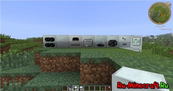 Minecraft 1.2.5 с модами от Saxalina v2