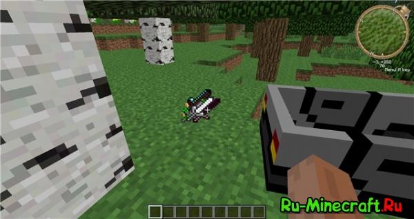 1.2.5 Клиент Minecraft v3 от saxalin'a с модами