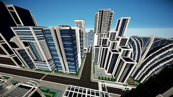 [1.2.5][128px] Urbancraft - текстурпак в современном стиле