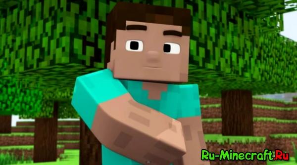 [Video] Стив пытается поймать и съесть свинью!