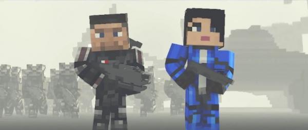 Mine Effect 3 - шикарная пародия на Mass Effect 3