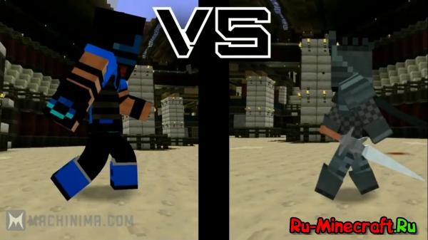 [Video] DuelCraft - Видео,на подобие Mortal Combat'a