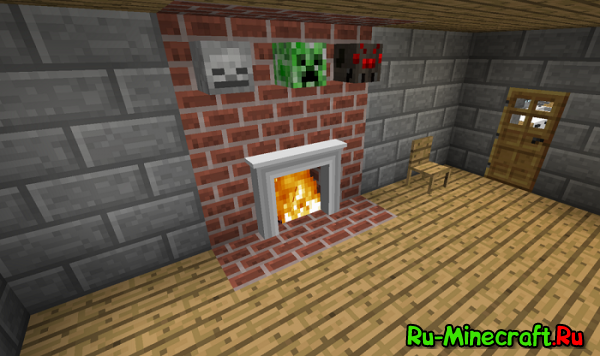 [1.4.7] Jammy Furniture Mod - ещё один крутой мод с фурнитурой для Minecraft