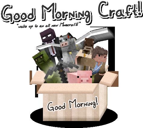 [1.5.1][16px] GOOD MORNING CRAFT V4.0 - красивый и необычный текстурпак