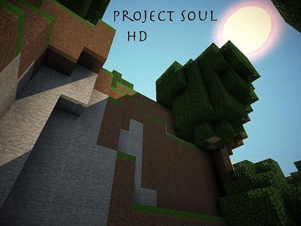 [1.2.5][64px] Project Soul - реалистичный текстурпак