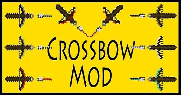 [1.2.5] Crossbow Mod - мод, добавляющий арбалеты в мир minecraft'a
