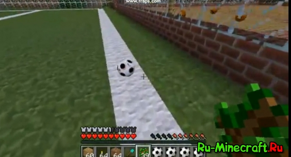 [1.2.5] Sports Mod: Basketball, Football, Tennis v1.1 - Начни заниматься спортом в Minecraft