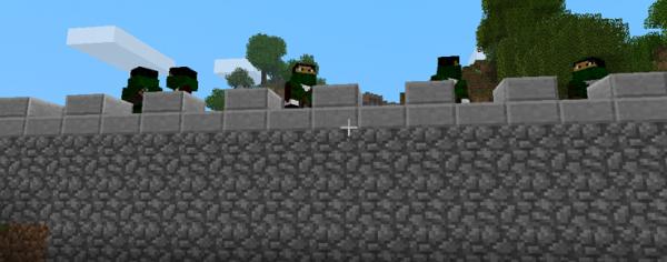 [1.2.5.] Castle Defenders - юниты в майнкрафте