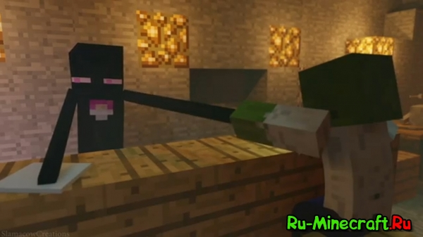 [Video] Creeper Anger Issues - Анимация Minecraft