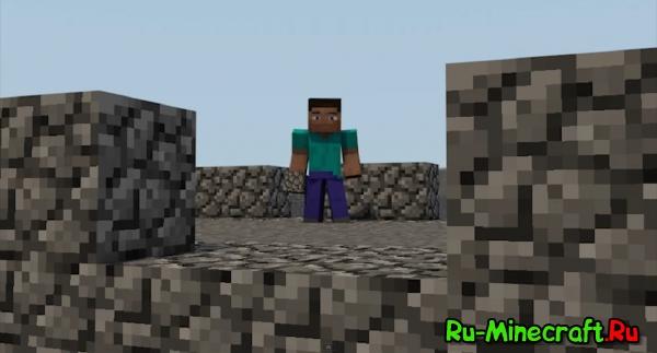 Видео о жизни в Minecraft, отличная анимация