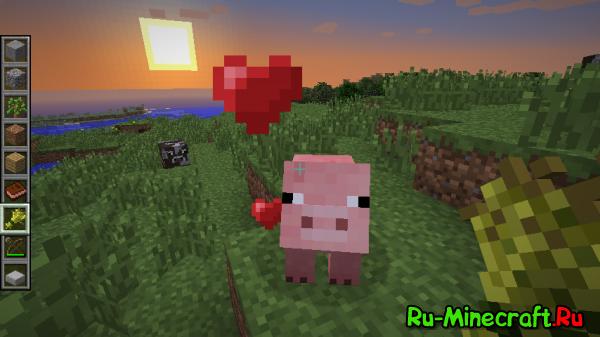 [1.2.5] Pig Companion - берём свинку в качестве телохранителя