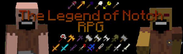 [1.3.2] The Legend Of Notch - большой RPG мод