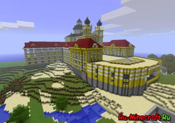 Город Elcdragons - большой город для Minecraft