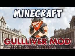 [1.3.2] Minecraft: Gulliver Mod - гиганты в майнкрафт