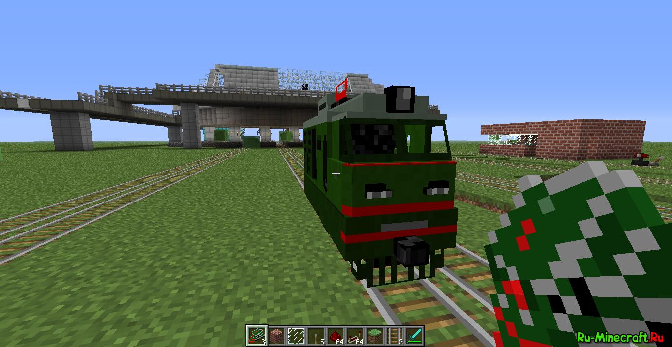 Скачать лаунчер майнкрафт с модами на поезда