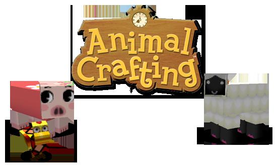 [1.6.2][64px] Animal Crafting - мультяшный...няшный