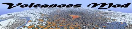[1.2.5] Volcanoes mod - вулканы в Minecraft