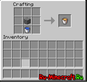 How to get lava with no bucket minecraft