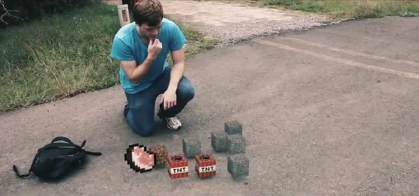 Minecraft: Zombie Attack - атака зомби, пародия на майнкрафт