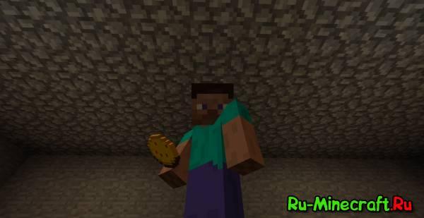 [1.2.5]Pizza & Stuff Mod v2.0 пицца и другая еда в Minecraft