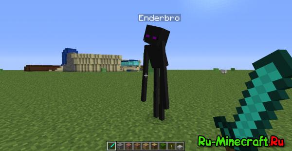 [1.2.5] EndrBro mod - теперь Эндер - Бро