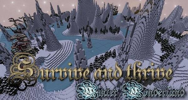 [1.2.5] Survive and Thrive!- Winter Wonderland - карта с заданиями
