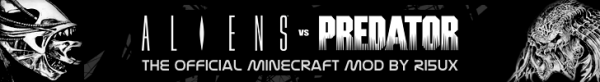 [1.6.2] Aliens Vs Predator Minecraft Mod - Хищники и чужик в майнкрафте