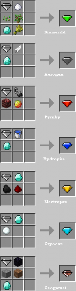 [1.2.5] Elemental crystals - Стихийные кристаллы!